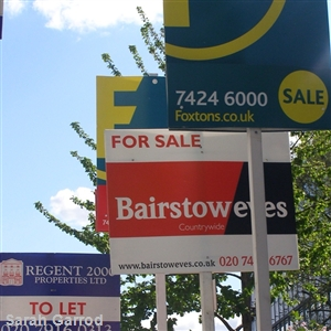 London house prices 'on the rise'