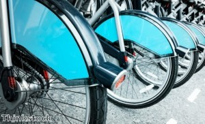 Barclays Cycle Hire shortlisted for design award