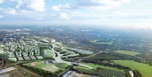 Hackney volunteers tour the Olympic Park