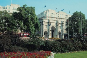 Marble Arch:  Park views, fine dining and fabulous shopping