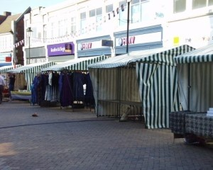 Bromley brings in new market stalls